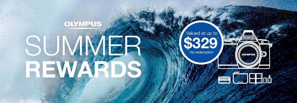 OLYMPUS SUMMER REWARDS PROMOTION 2016-2017