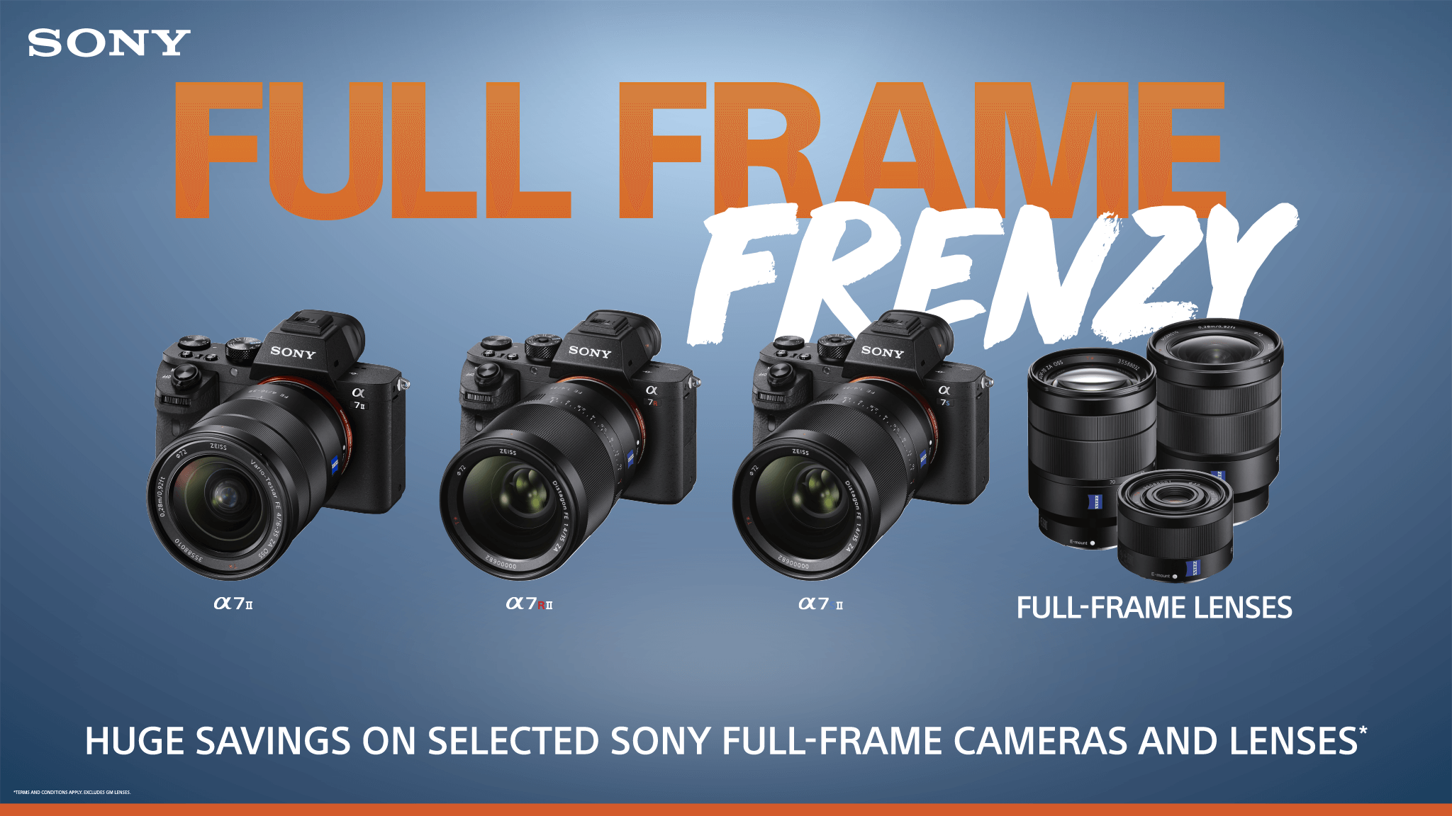 Sony Full Frame Frenzy on Now - 4 Days Only – CamBuy Camera Store
