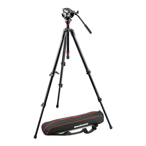 Manfrotto MVH500AH,755XBK Lightweight Fluid Video Tripod Kit