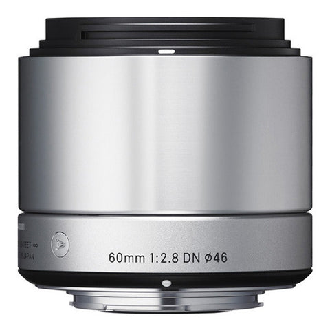 Sigma 60mm F2.8 DN | A Lens - Sony E-mount - Silver