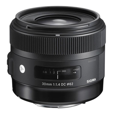 Sigma 30mm F1.4 DC HSM Art Lens - Canon Mount