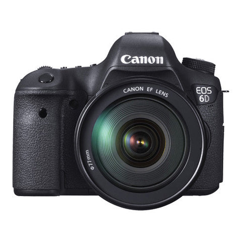 Canon EOS 6D Enthusiast Kit with 24-70mm Lens