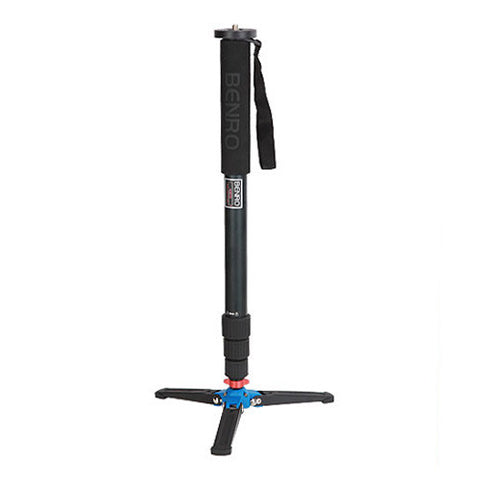 Benro A38T Classic Aluminum Monopod with 3-Leg Folding Base