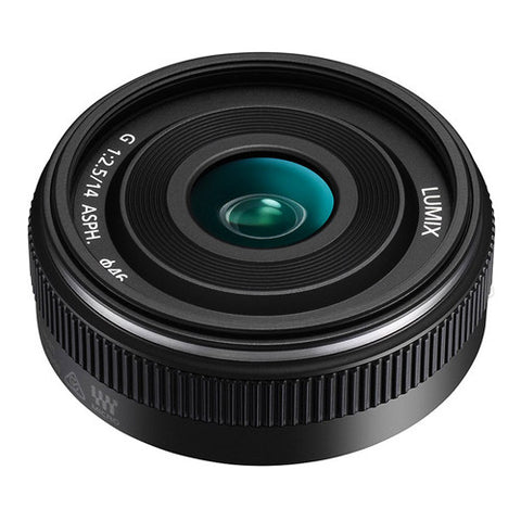 Panasonic LUMIX G 14mm F2.5 II ASPH. Lens - Black