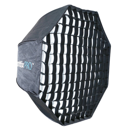 Phottix Pro Easy Up HD Umbrella Octa Softbox with Grid - 80cm