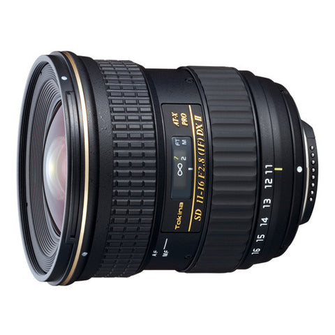 Tokina AT-X 11-16mm F2.8 PRO DX II Lens - Nikon Mount
