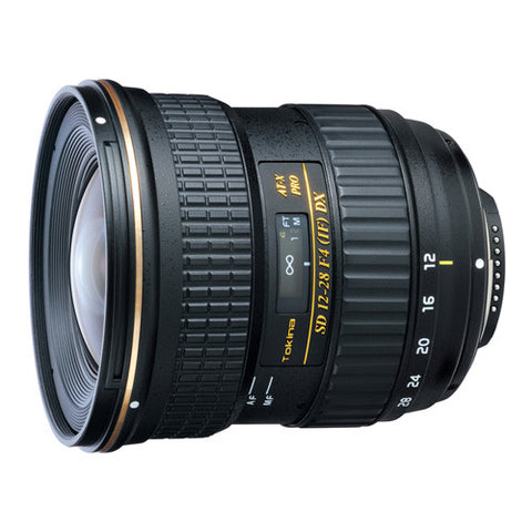 Tokina AT-X 12-28mm F4 PRO DX Lens - Nikon Mount