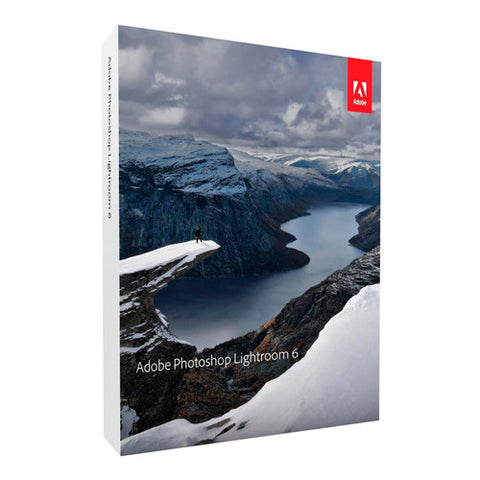 Adobe Photoshop Lightroom 6 for Mac/Windows - Full Retail Version