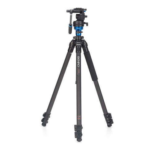 Benro C1573FS2 Carbon Fibre Video Tripod Kit