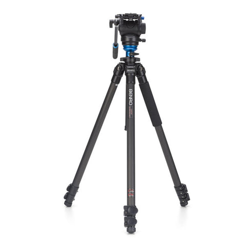 Benro C2573FS4 Carbon Fibre Video Tripod Kit