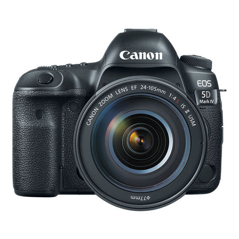 Canon EOS 5D Mark IV Premium Kit with 24-105mm Lens