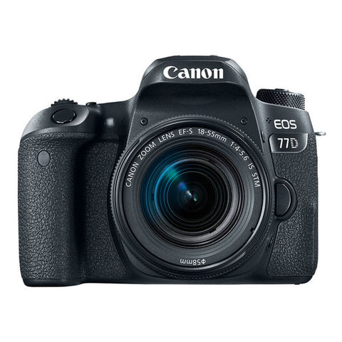 Canon EOS 77D Single Lens Kit with 18-55mm Lens