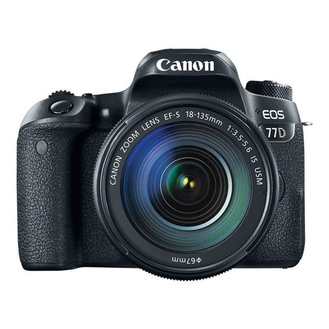 Canon EOS 77D Super Kit with EF-S 18-135mm Lens