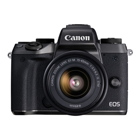 Canon EOS M5 Single Lens Kit with 15-45mm Lens