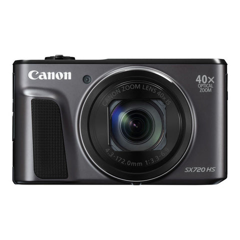 Canon PowerShot SX720 HS Digital Camera - Black