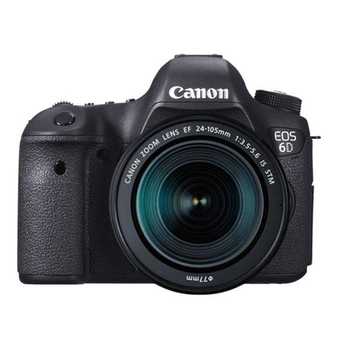 Canon EOS 6D Premium Kit with 24-105mm STM Lens (6DPK2)