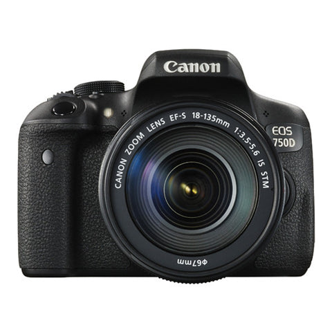 Canon EOS 750D Super Kit with 18-135mm Lens