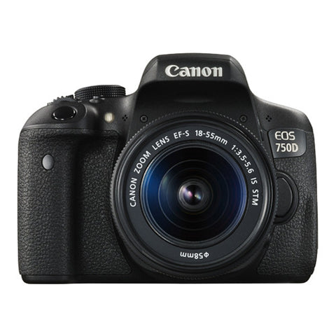 Canon EOS 750D Single Lens Kit with 18-55mm Lens