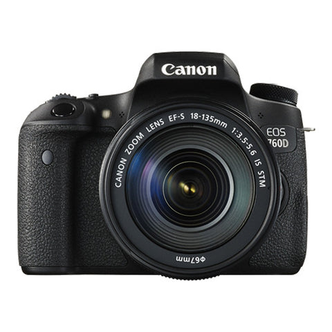 Canon EOS 760D Super Kit with 18-135mm Lens