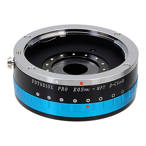 Fotodiox Pro Lens Mount Adapter with Aperture Control Iris Canon EF to Micro Four Thirds