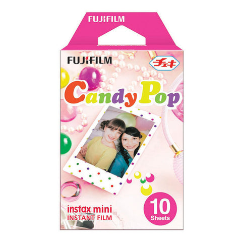 Fujifilm Instax Mini Candy Pop Instant Film - 10 Pack