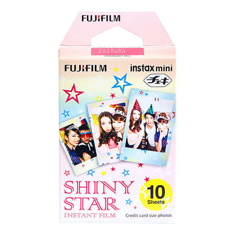 Fujifilm Instax Mini Shiny Star Instant Film - 10 Pack