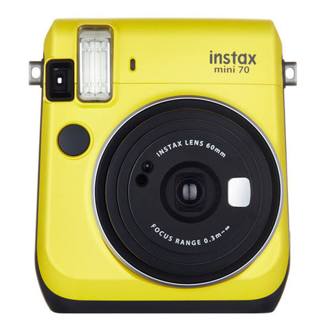 Fujifilm Instax Mini 70 Instant Camera - Canary Yellow