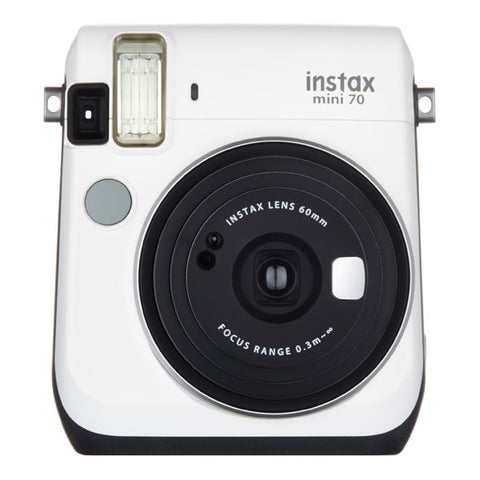 Fujifilm Instax Mini 70 Instant Camera - Moon White