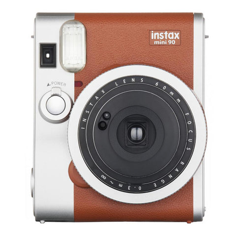 Fujifilm Instax Mini 90 Neo Instant Camera - Brown