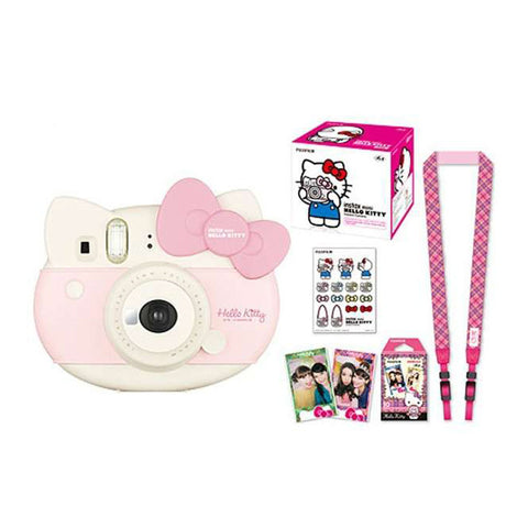 Fujifilm Instax Mini Hello Kitty Instant Camera Pack - Pink