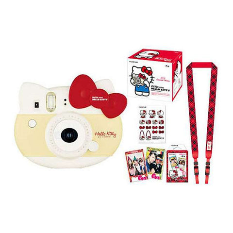 Fujifilm Instax Mini Hello Kitty Instant Camera Pack - Red