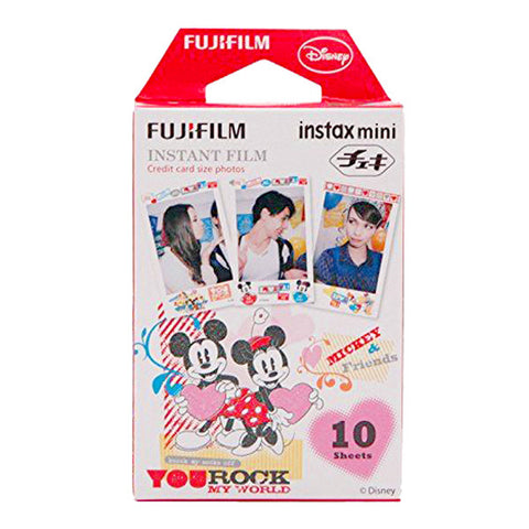 Fujifilm Instax Mini Minnie & Mickey Instant Film - 10 Pack