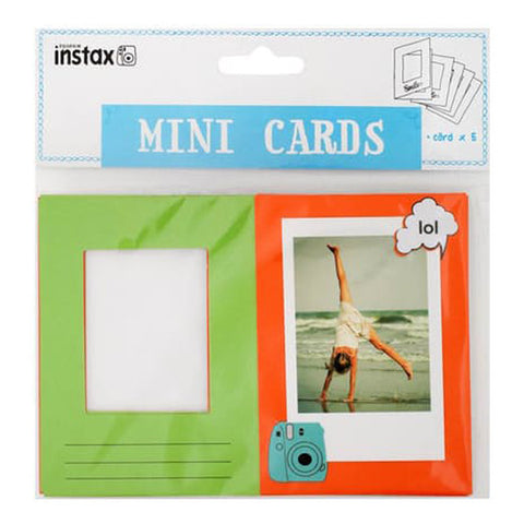 Fujifilm Instax Photo Window Card - Smile
