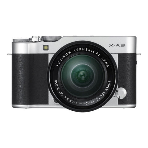 Fujifilm X-A3 Single Lens Kit with XC 16-50mm Lens - Silver