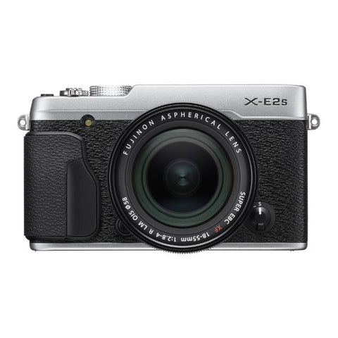 Fujifilm X-E2S Single Lens Kit with XF 18-55mm Lens - Silver