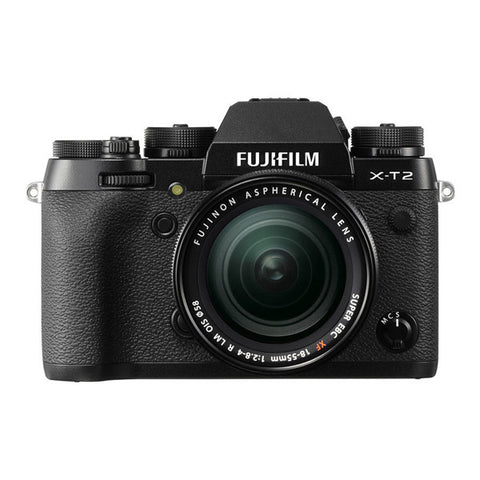 Fujifilm X-T2 Single Lens Kit with 18-55mm Lens