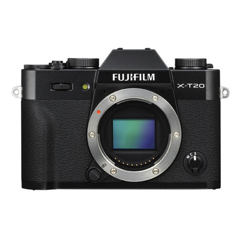 Fujifilm X-T20 Body Only - Black
