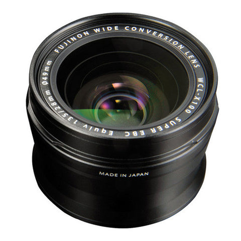 Fujifilm Wide Conversion Lens WCL-X100 for X100 / X100S - Black
