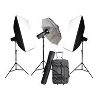 Glanz TC400 Professional Studio Flash Kit