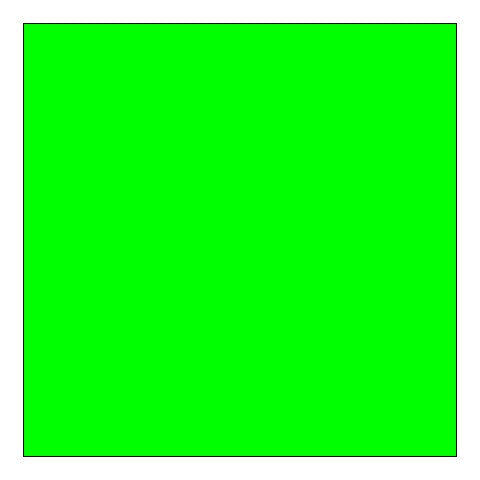 Glanz Muslin Background 3 x 6m - Plain Green (Chroma)