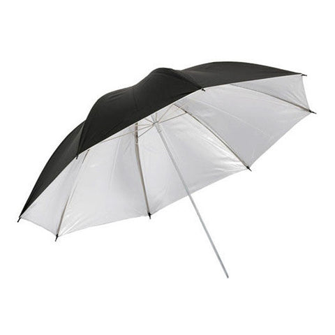 "Glanz 33"" Umbrella - Silver/Black"