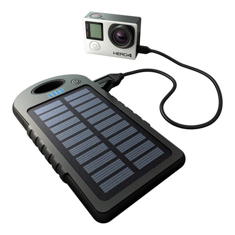 GoPole DualCharge USB Power Bank + Solar Charger