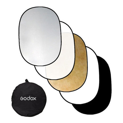 Godox Collapsible 5-in-1 Reflector Disc Set - 100 x 150cm