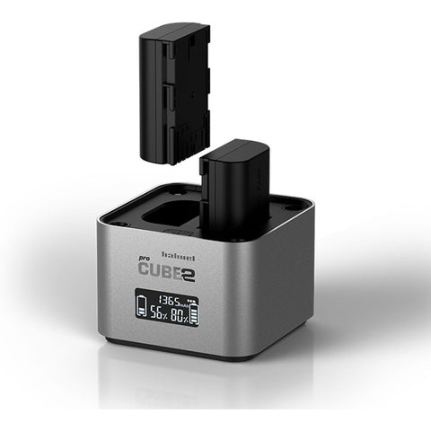 Hahnel ProCube 2 Professional Twin Charger for Canon