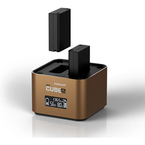 Hahnel ProCube 2 Professional Twin Charger for Olympus