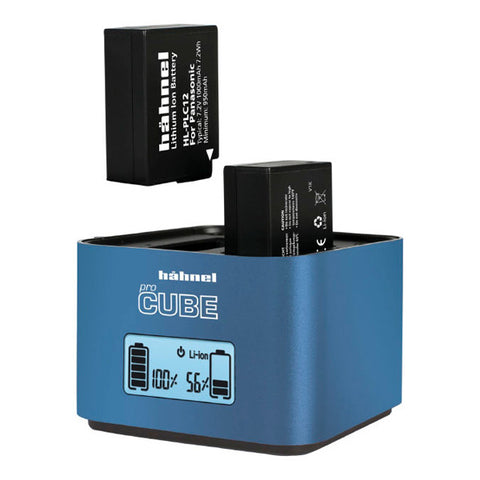 Hahnel ProCube Professional Twin Charger for Fujifilm/Panasonic