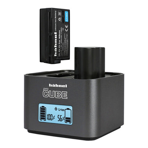 Hahnel ProCube Professional Twin Charger for Nikon