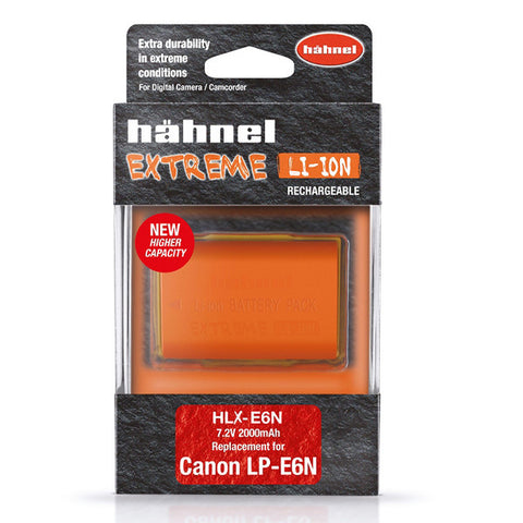 Hahnel Extreme Canon LP-E6N Replacement Battery Pack