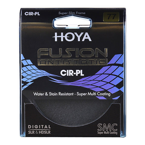 Hoya 62mm Fusion Antistatic Circular Polariser Filter