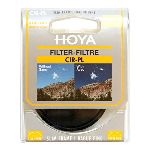 Hoya 55mm Slim Circular Polariser Filter